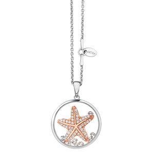 ASTRA Sterling Silver Hopeful Star Pendant