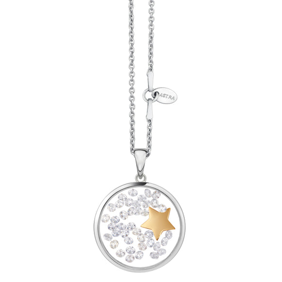 ASTRA Sterling Silver Star Charm Pendant