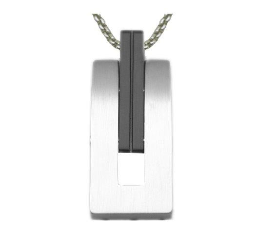 Jos Von Arx Men's Steel Tag Pendant