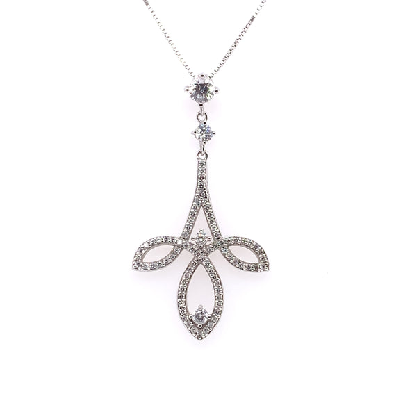 Diamonfire Chandelier CZ Pendant