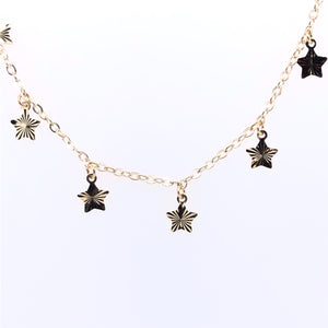 "9ct Gold ""All the Stars in the Sky"" Necklet"