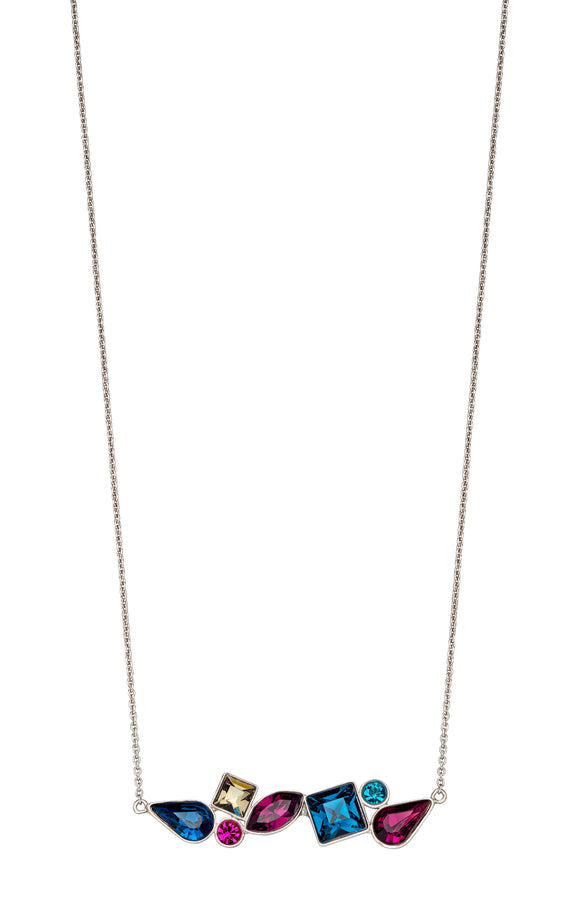 Fiorelli Abstract Mix Stone Necklace