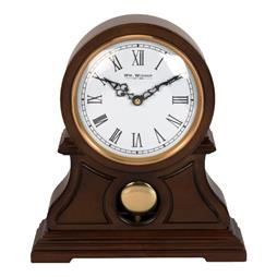 Wm Widdop Quartz Wooden Mantel Clock