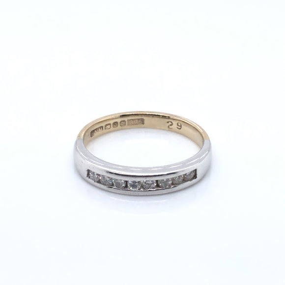 18ct Gold Diamond 0.30ct Channel-set Eternity Ring