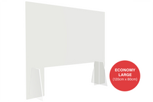 Load image into Gallery viewer, Economy Sneeze Guard - Large (120cm x 80cm)