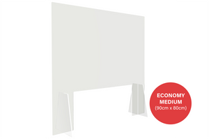 Economy Sneeze Guard - Medium (90cm x 80cm)