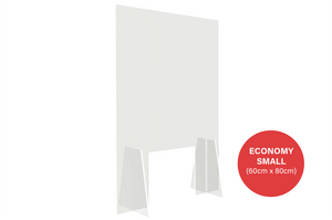 Economy Sneeze Guard - Small (60cm x 80cm)