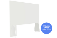 Load image into Gallery viewer, Premium Sneeze Guard - Large (120cm x 80cm)
