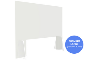 Premium Sneeze Guard - Large (120cm x 80cm)
