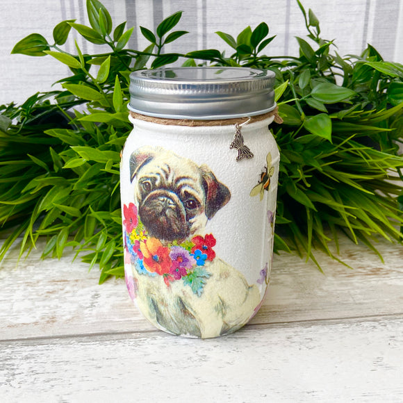 Penny the Pug Medium Jar