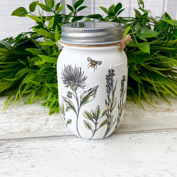Midnight Botanicals Medium Jar