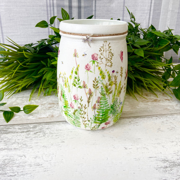 Spring Meadow Large Jar