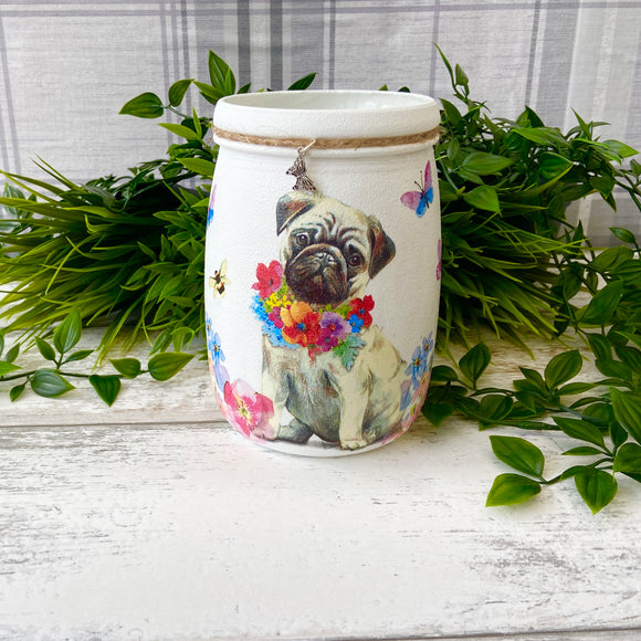 Penny the Pug Large Jar