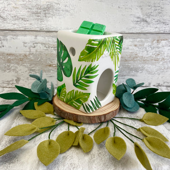Monstera Leaf Wax Burner