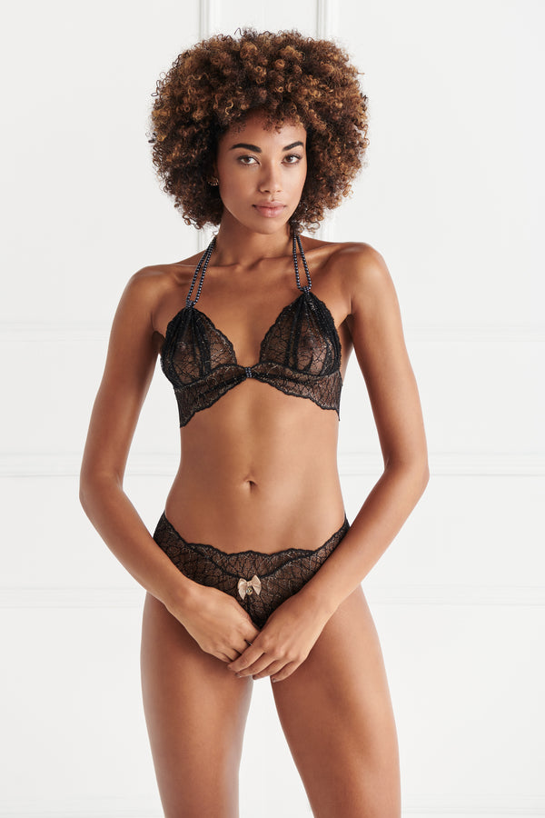 Sydney Ebony Bra - The Bracli Boutique