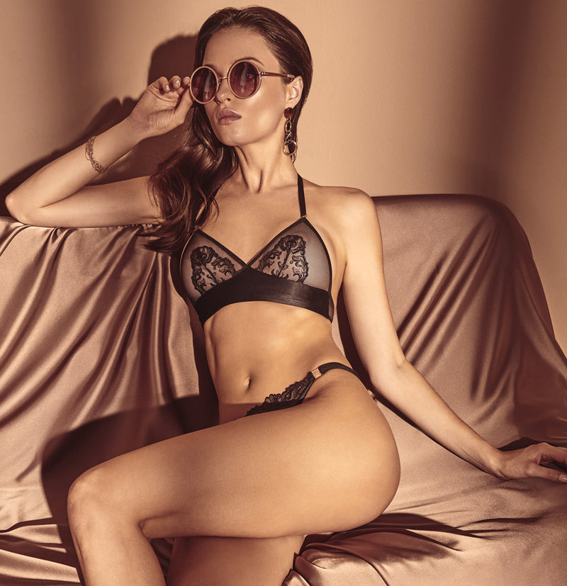 Vienna Halter Bra - The Bracli Boutique
