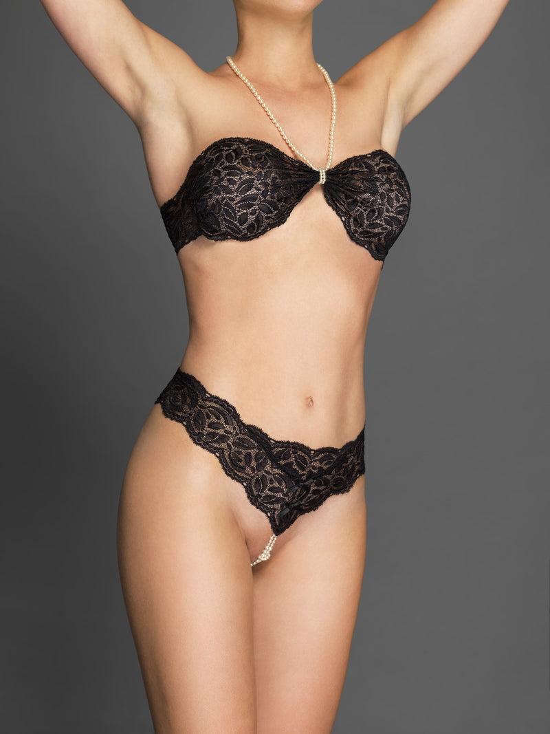 Paris Your Night Thong - The Bracli Boutique