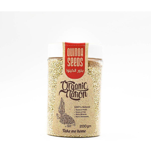 Organic Nation Quinoa Seeds-200G