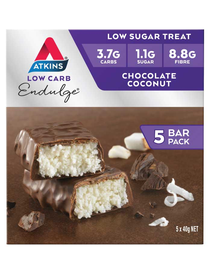 Atkins Endulge Multipack Chocolate Coconut 200g - Fresh Food Enterprises