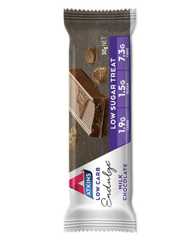 Atkins Endulge Single Milk Chocolate 30g - Fresh Food Enterprises