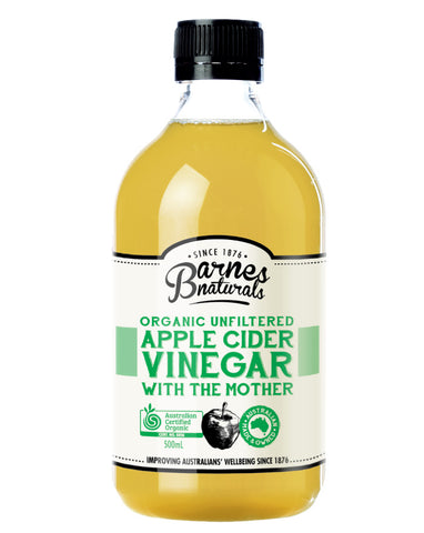 Barnes Naturals Organic Apple Cider Vinegar 500ml - Fresh Food Enterprises