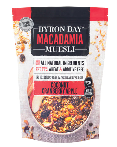 Byron Bay Macadamia Muesli Granola 400g - Fresh Food Enterprises