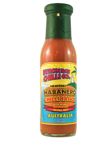 Byron Bay Chilli Heavenly Habanero 250ml - Fresh Food Enterprises
