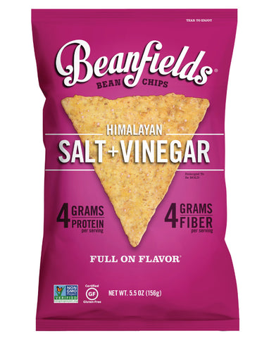 Beanfields Bean Chips Himalayan Salt & Vinegar 156g