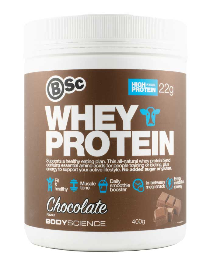 Body Science Whey Protein Chocolate 400g - Fresh Food Enterprises