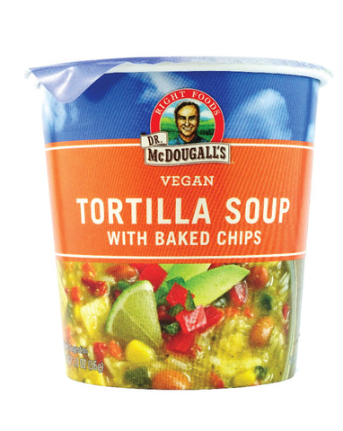 Dr. McDougall's Big Cup Tortilla with Baked Chips 57g