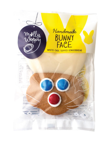 Molly Woppy Large Gingerbread Bunny Face 44g