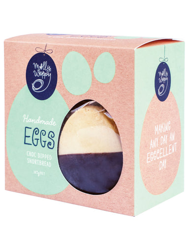 Molly Woppy Shortbread Choc Dipped Eggs 165g