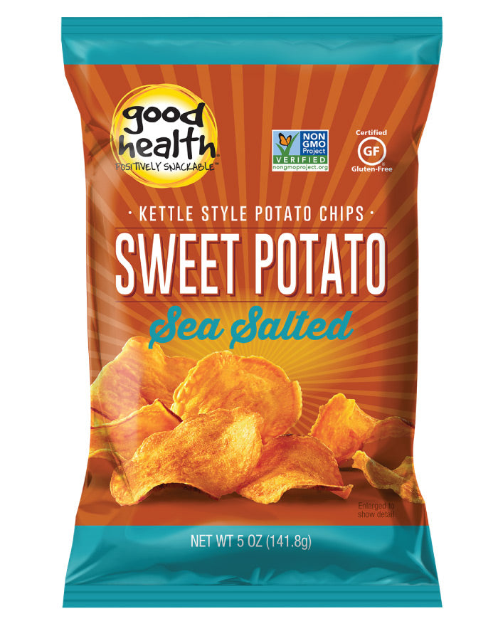 Good Health Snacks Sweet Potato Chips 142g