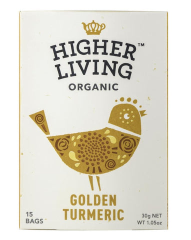 Higher Living Organic Golden Turmeric 3 x 27g - Fresh Food Enterprises