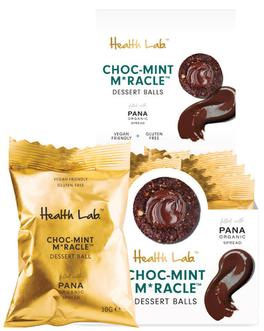 Health Lab Raw Dessert Balls Choc Mint Miracle 30g