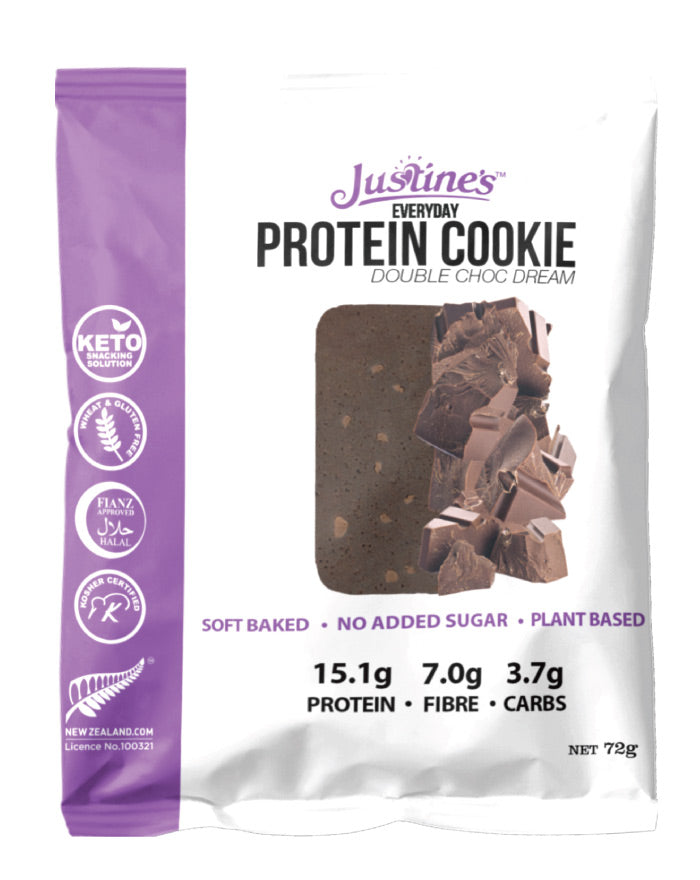 Justine's Vegan Cookie Double Choc Dream 72g