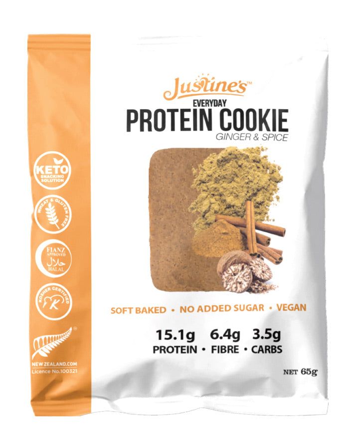 Justine's Vegan Cookie Ginger & Spice 65g