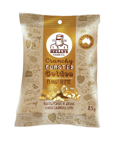 Kellys Candy Co Snack Pack Peanut Brittle 85g - Fresh Food Enterprises