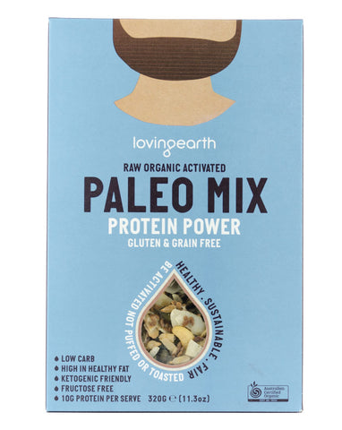 Loving Earth Organic Cereals Paleo Mix Power Protein 320g - Fresh Food Enterprises