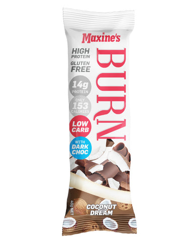 Maxine's Burn Bar Coconut Dream 40g