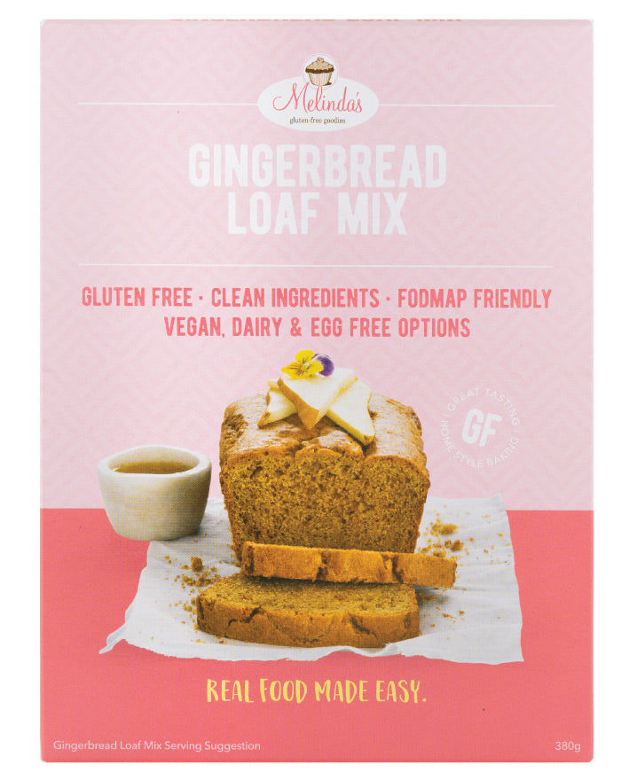 Melinda's Bakery Gingerbread Loaf 380g - Fresh Food Enterprises