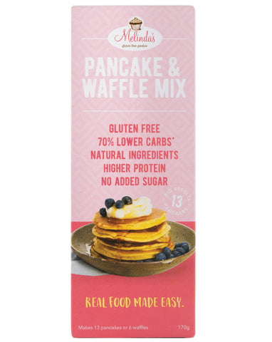 Melinda's Lower Carb Pancake & Waffle Mix 170g - Fresh Food Enterprises