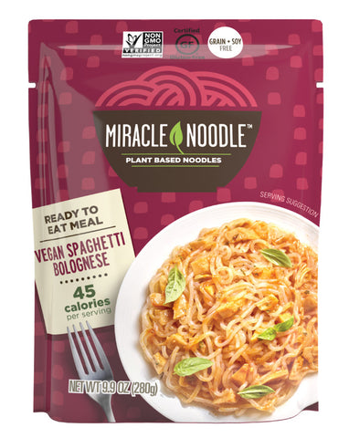 Miracle Noodle Vegan Spaghetti Bolognese 280g