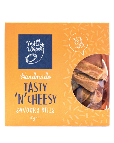 Molly Woppy Bites Savoury Tasty N Chessy 150g