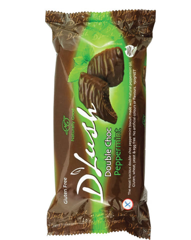 Naturally Good D'Lush Biscuits Peppermint Choc 150g - Fresh Food Enterprises