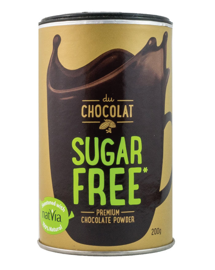 Du Chocolat Sugar Free Premium Chocolate Powder 200g - Fresh Food Enterprises