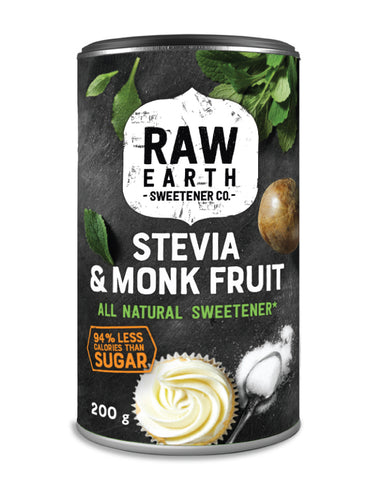Raw Earth Monk Fruit Sweetener (powder) 200g - Fresh Food Enterprises