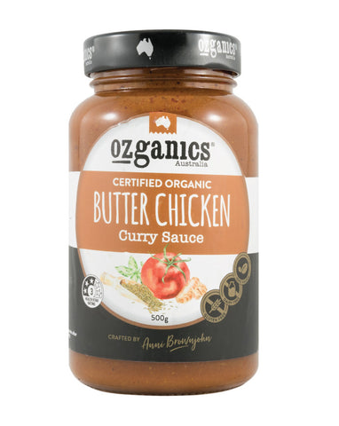 Ozganics Butter Chicken Curry Sauce 500g - Fresh Food Enterprises