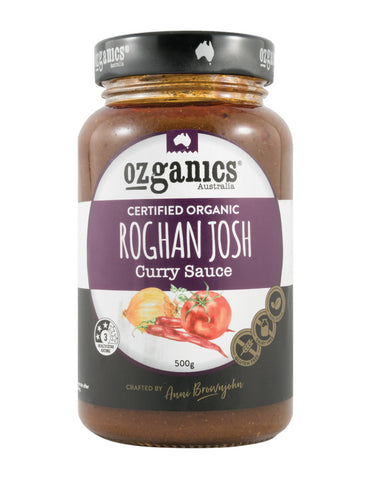 Ozganics Roghan Josh Curry Sauce 500g - Fresh Food Enterprises
