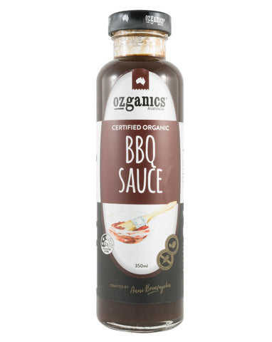 Ozganics BBQ Sauce 350ml - Fresh Food Enterprises